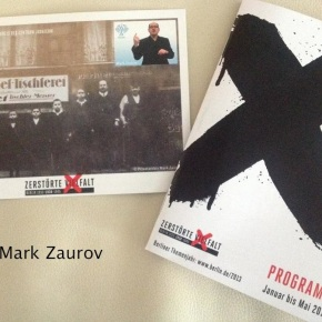 2013 Exhibit: Deaf-Jewish Life in Berlin as Part of NS DestroyedDiversity
